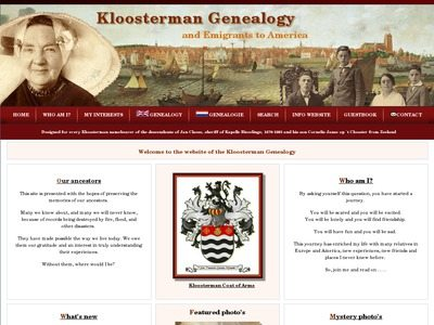 Kloosterman Genealogy